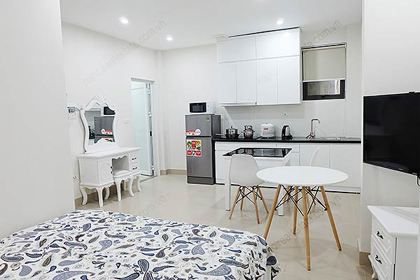 Affordable Serviced Studio For Rent At To Ngoc Van Fully