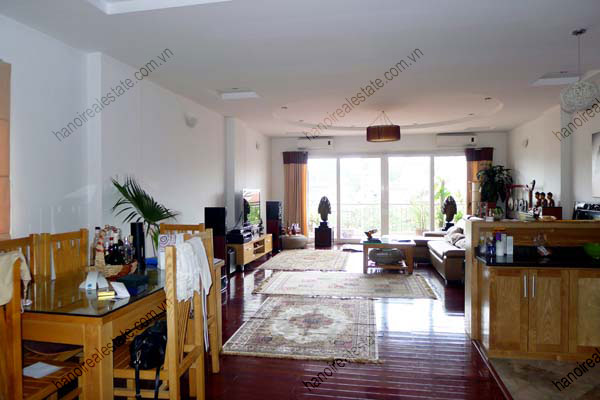 Beautiful 2 Bedroom Apartment With Spacious Lounge And Balcony In Truc Bach