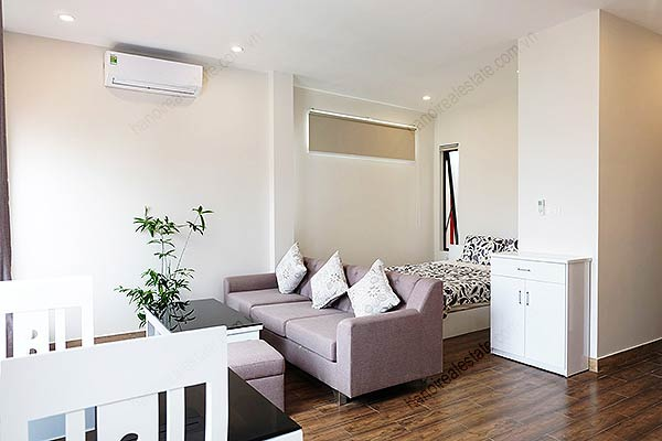 charming studio apartment for rent at to ngoc van street