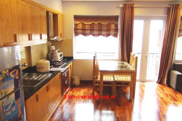 Luxury japanese style apartment for rent in kim ma street for One room apartment design japan