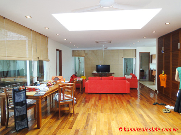 Modern well furnished 4 bedroom house for rent in west for Modern house hanoi