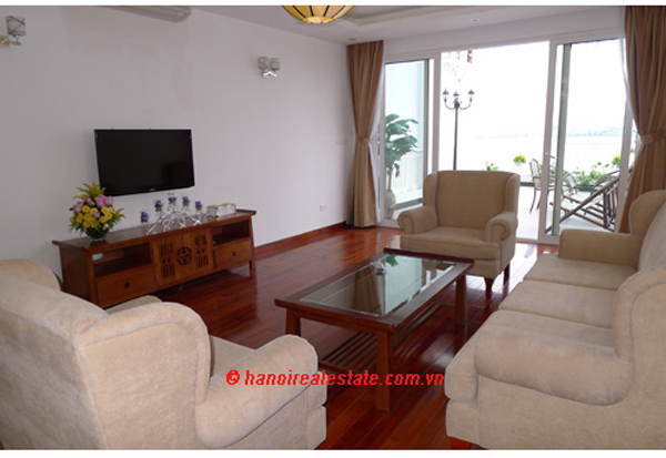 Serviced Apartment With Large Terrace For Rent 3 Bedrooms