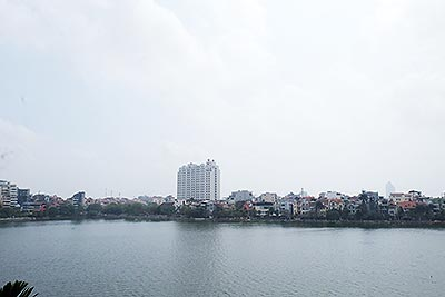 Lakeview Apartment for rent on Quang An road, Tay Ho District, Hanoi, 3beds