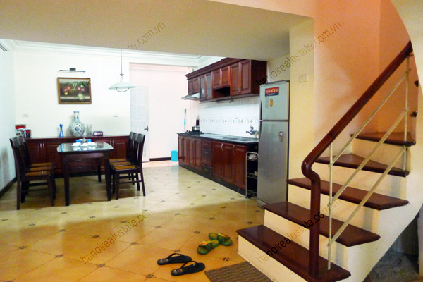 4 bed house for rent in Linh Lang, Ba Dinh Dist Hanoi 3