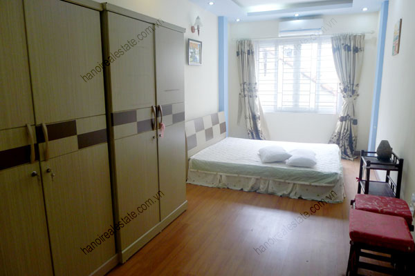 4 bedroom, cozy and airy house for rent in Ba Dinh, Hanoi