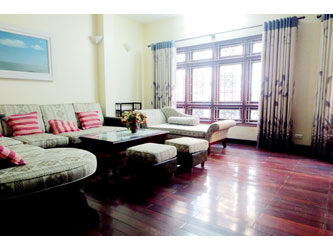 4 bedroom furnished house for rent nearby the Lotte Tower Hanoi