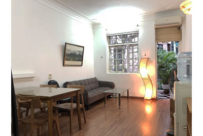 Adorable 01BR apartment on Dao Tan, balcony with street view