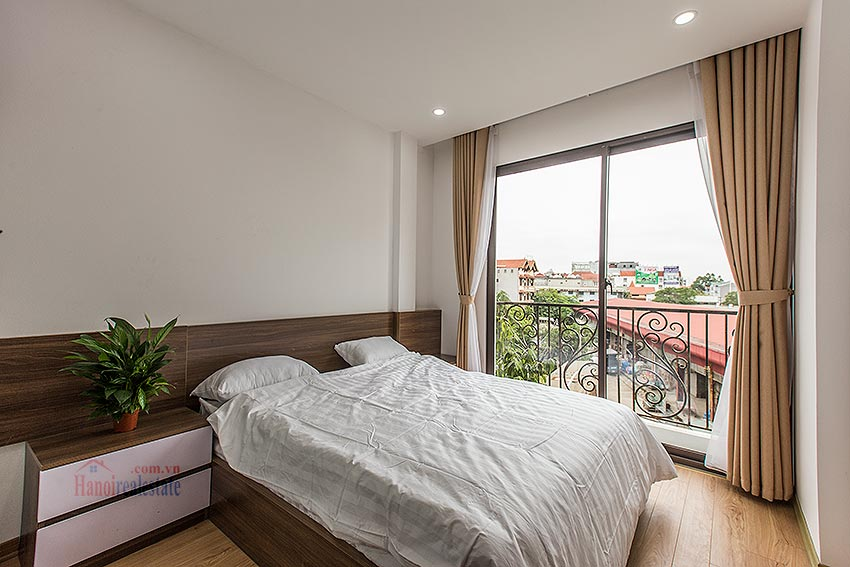 Adorable 02BRs serviced apartment at Au Co, near the flower market with balcony 16