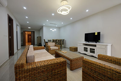 Affordable apartment for rent at L3 Ciputra Hanoi, 114m2, 3 bedrooms, Furnished