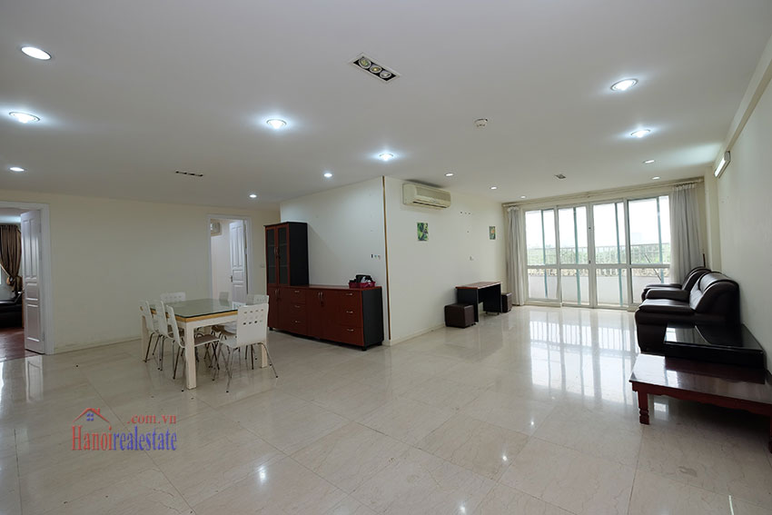 Affordable 4-bedrooms apartment at P2 Ciputra, balcony 1