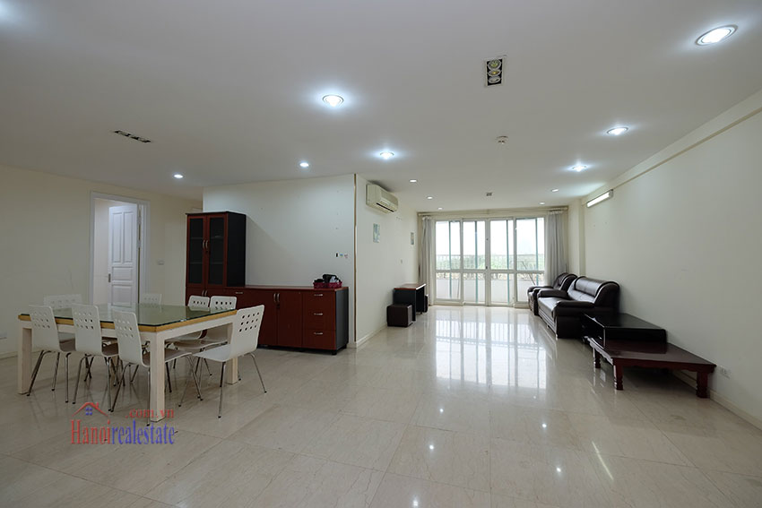 Affordable 4-bedrooms apartment at P2 Ciputra, balcony 2