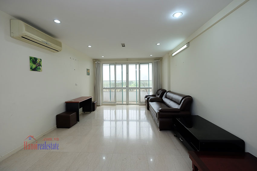 Affordable 4-bedrooms apartment at P2 Ciputra, balcony 3