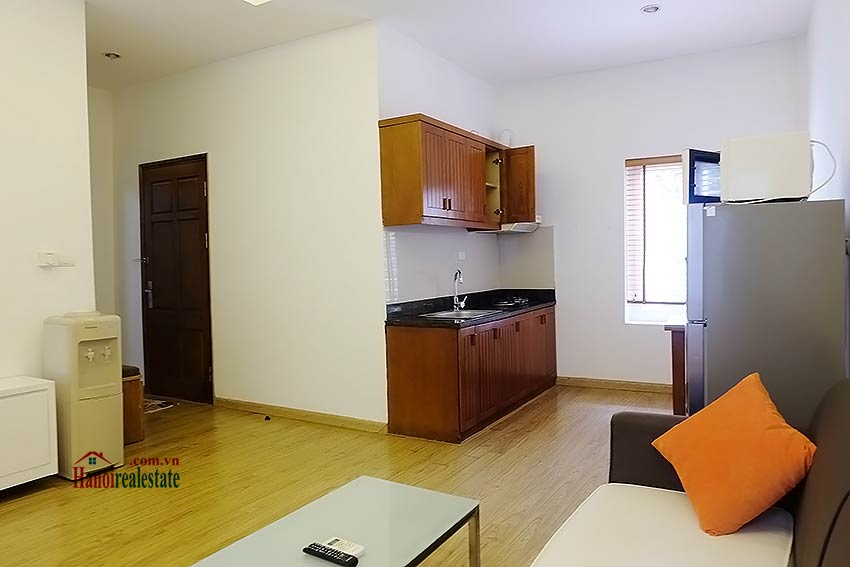 affordable one bedroom apartment for rent in ba dinh district