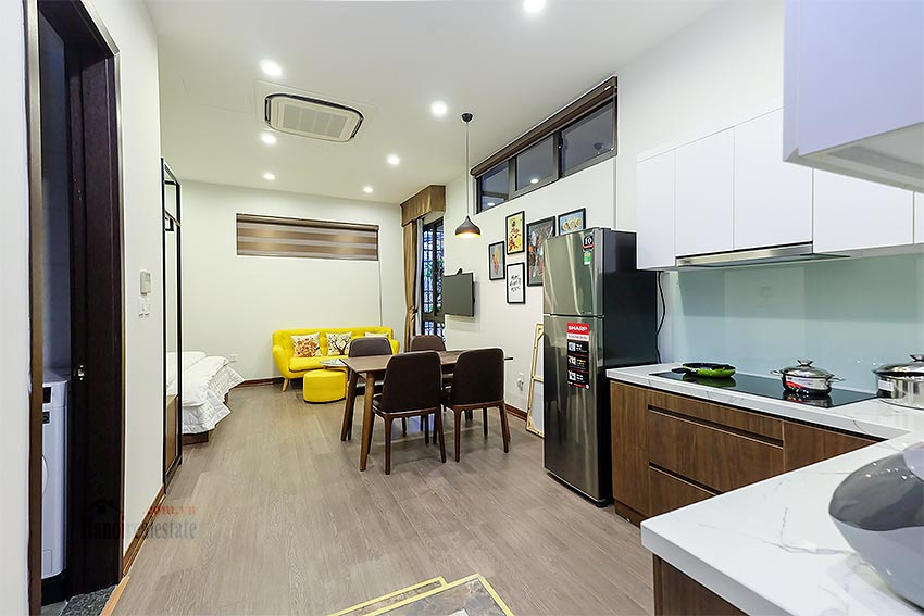 Affordable brand new studio apartment at Tu Hoa area, Tay Ho 1