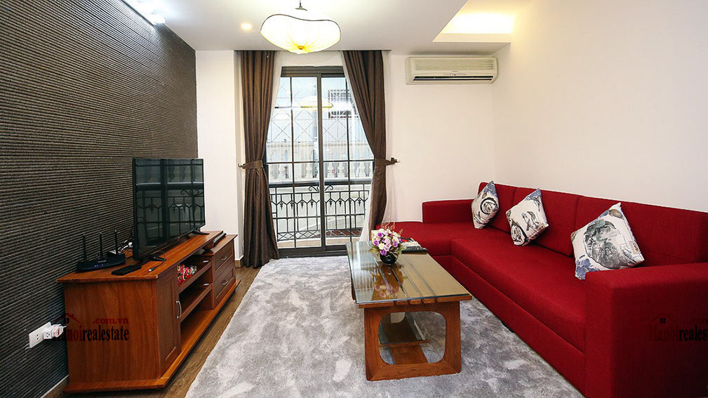 Amazing 02BR apartment in Dao Tan area, quiet alley 2