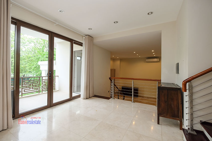 Amazing Ambassador's 05BRs villa for rent in Q block Ciputra, beautiful view 12