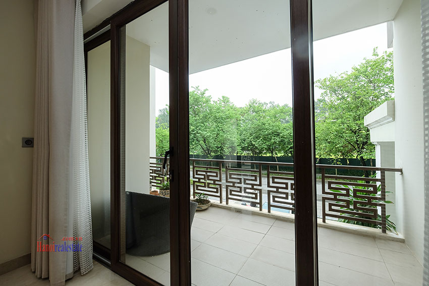 Amazing Ambassador's 05BRs villa for rent in Q block Ciputra, beautiful view 13