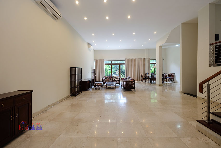 Amazing Ambassador's 05BRs villa for rent in Q block Ciputra, beautiful view 2