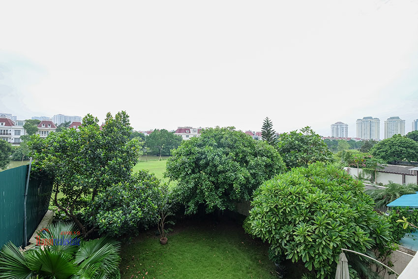 Amazing Ambassador's 05BRs villa for rent in Q block Ciputra, beautiful view 24