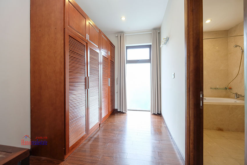 Amazing Ambassador's 05BRs villa for rent in Q block Ciputra, beautiful view 25