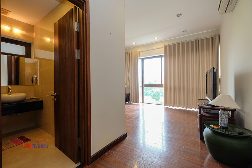 Amazing Ambassador's 05BRs villa for rent in Q block Ciputra, beautiful view 35
