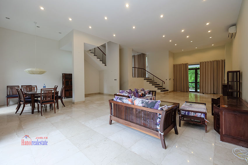 Amazing Ambassador's 05BRs villa for rent in Q block Ciputra, beautiful view 4