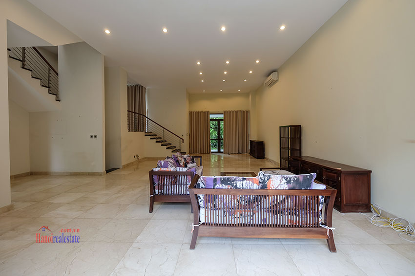 Amazing Ambassador's 05BRs villa for rent in Q block Ciputra, beautiful view 5