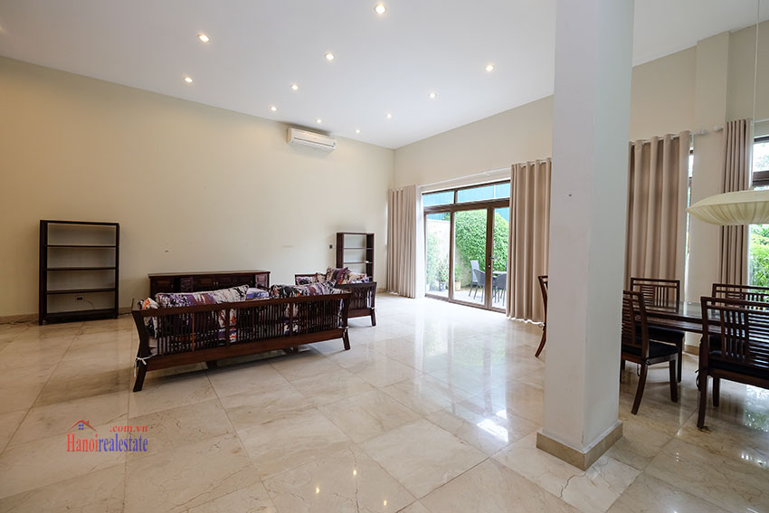 Amazing Ambassador's 05BRs villa for rent in Q block Ciputra, beautiful view 7