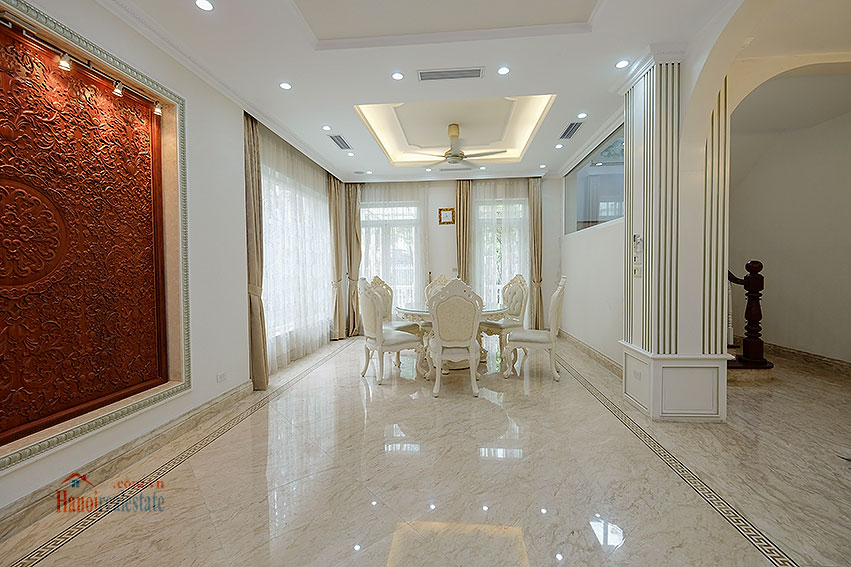 Ambassador's luxurious 04BRs villa in T block Ciputra, fully furnished 11