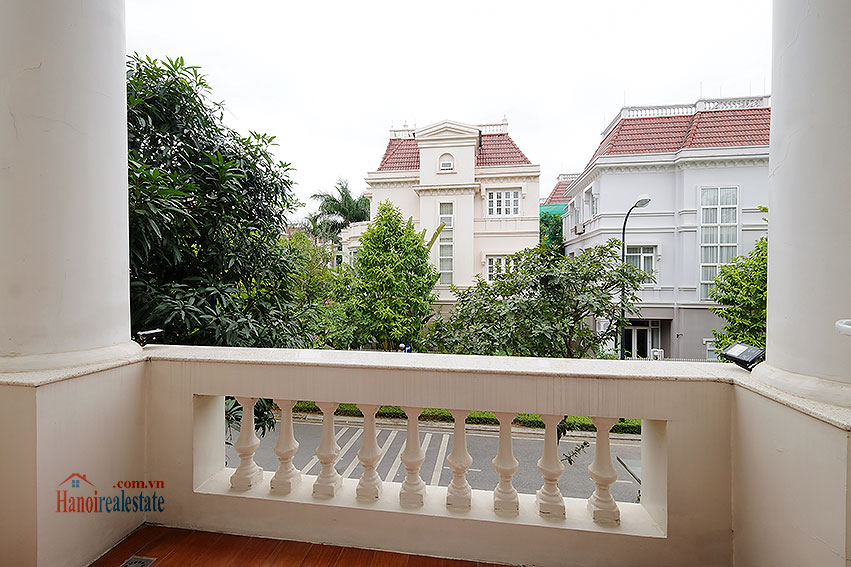 Ambassador's luxurious 04BRs villa in T block Ciputra, fully furnished 21