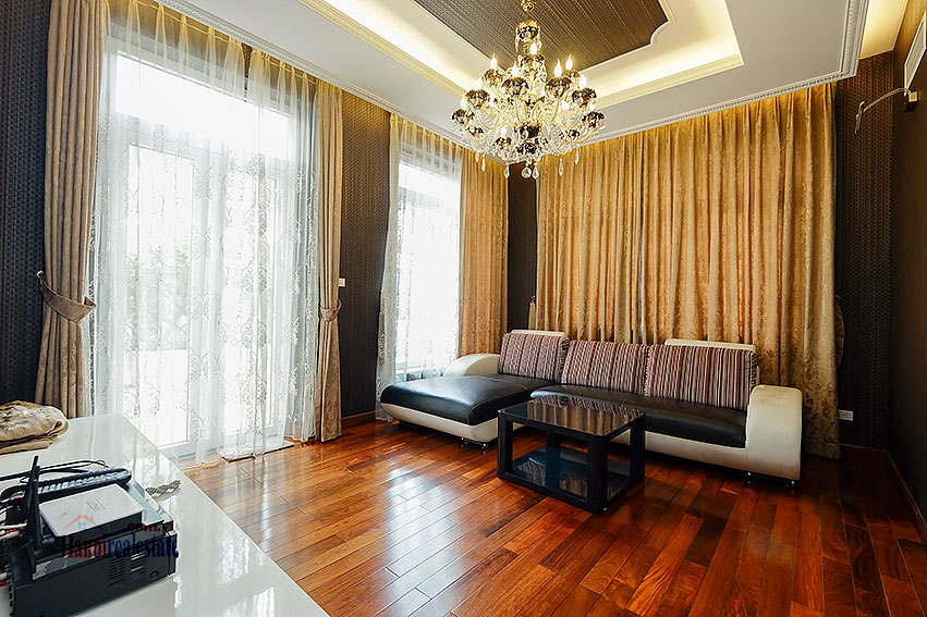 Ambassador's luxurious 04BRs villa in T block Ciputra, fully furnished 25