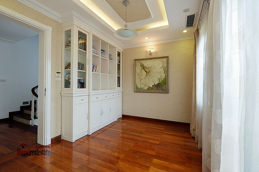 Ambassador's luxurious 04BRs villa in T block Ciputra, fully furnished 28