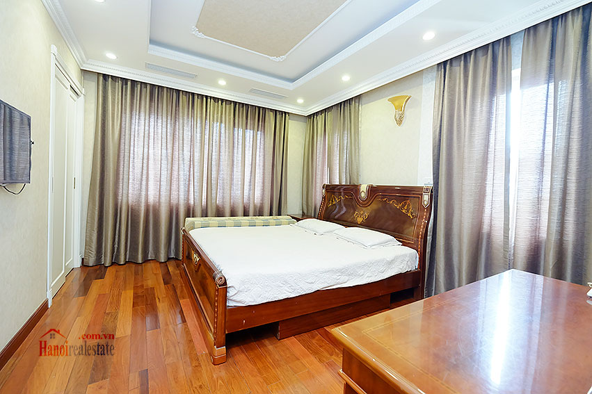 Ambassador's luxurious 04BRs villa in T block Ciputra, fully furnished 29