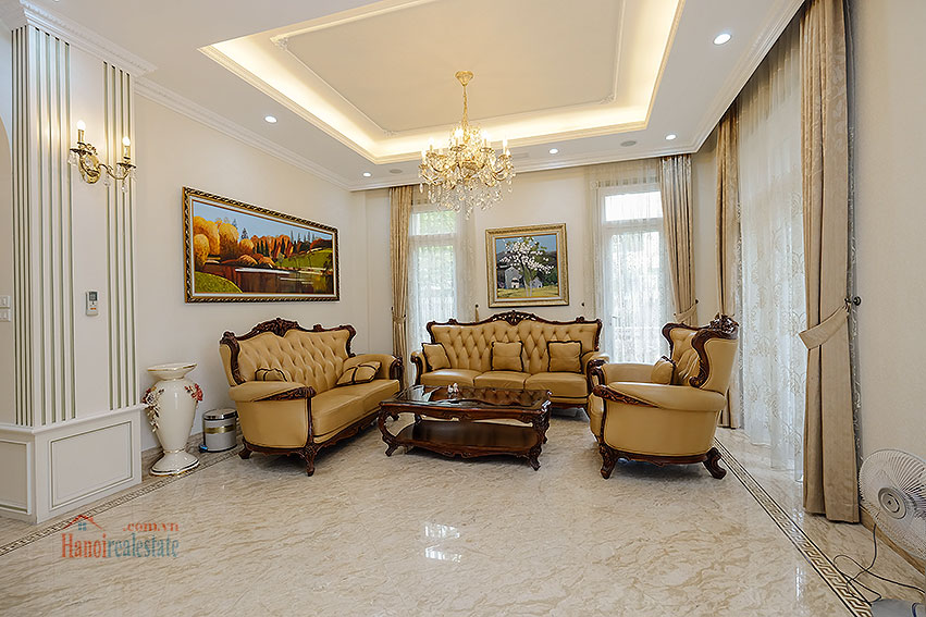 Ambassador's luxurious 04BRs villa in T block Ciputra, fully furnished 7