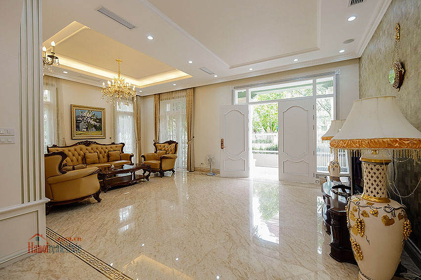 Ambassador's luxurious 04BRs villa in T block Ciputra, fully furnished 8