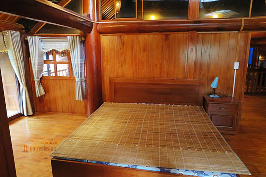 Antique Wooden house in Ba Dinh with a nice garden 21