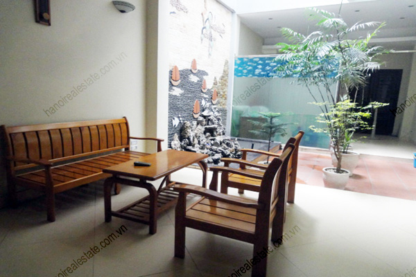 Apartment for rent in Dao Tan Street, Ba Dinh Hanoi, 2 bedrooms 12