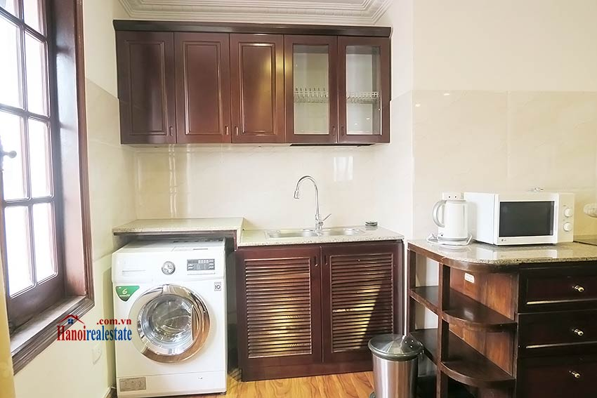 Apartment for rent in Hoan Kiem, 02BRs, fully furnished 4