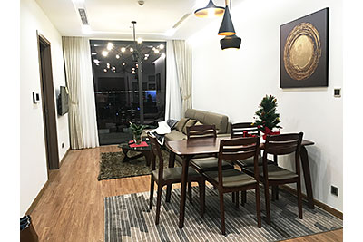 Apartment Vinhomes Metropolis on high floor, view to Giang Vo Lake