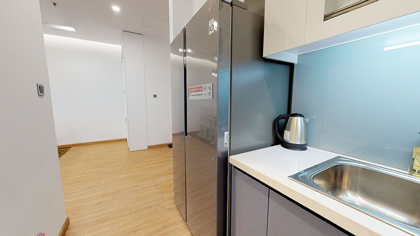 Apartment with private kitchen on high floor of M3 Building, Vinhomes Metropolis 6