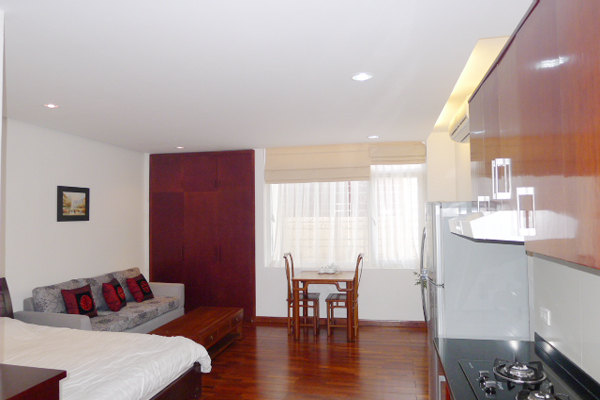 Studio Apartment in Ba Dinh for rent, modern style, Fully Furnished