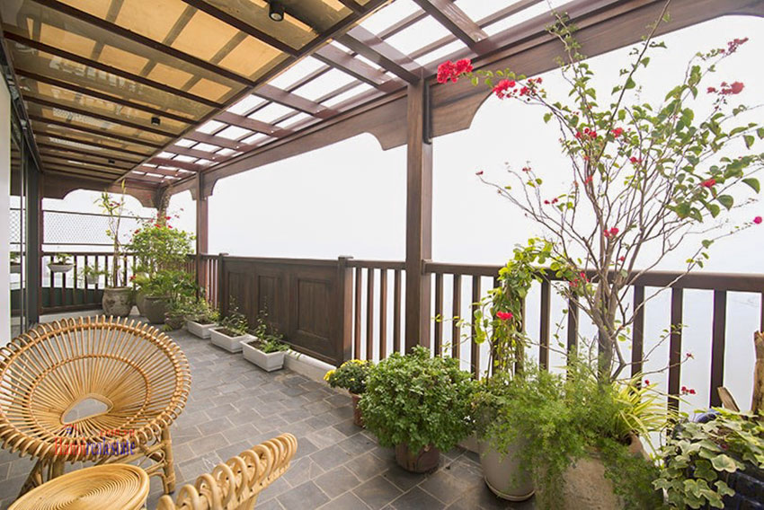 Astonishing Westlake view luxury 2-bedroom apartment on Vu Mien St with large balcony 15