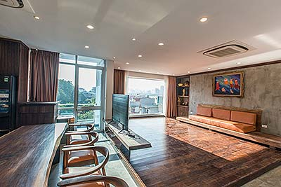 Awesome apartment in To Ngoc Van, Tay Ho, 03BRs, lake view