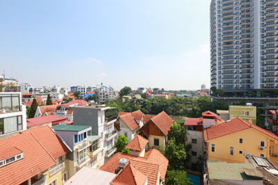 Awesome city view brand new 04BRs apartment on Tay Ho Rd with car access