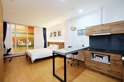 Awesome Studio apartment Rental in Hai Ba Trung Dist Hanoi