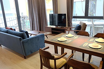Ba Dinh District: New and bright 02BRs serviced apartment