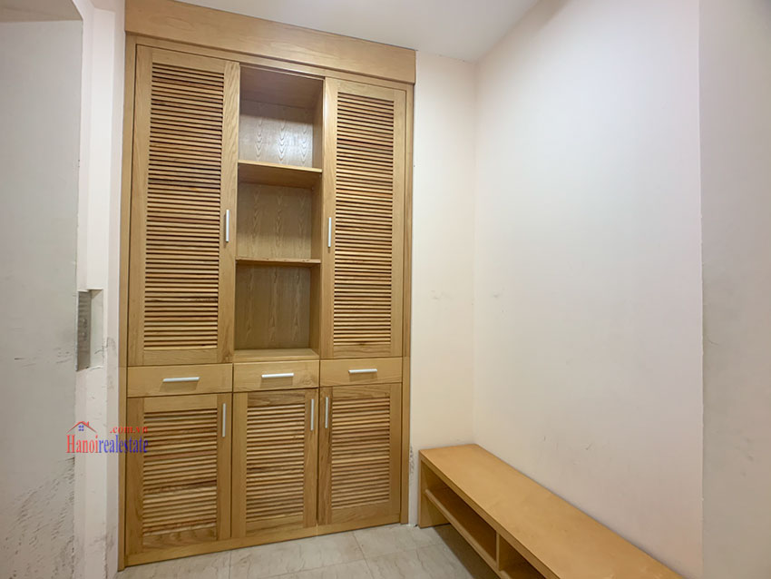 Basic Furniture 03 bedroom apartment in P1 Block, Ciputra, spacious with villas view from huge balcony 1