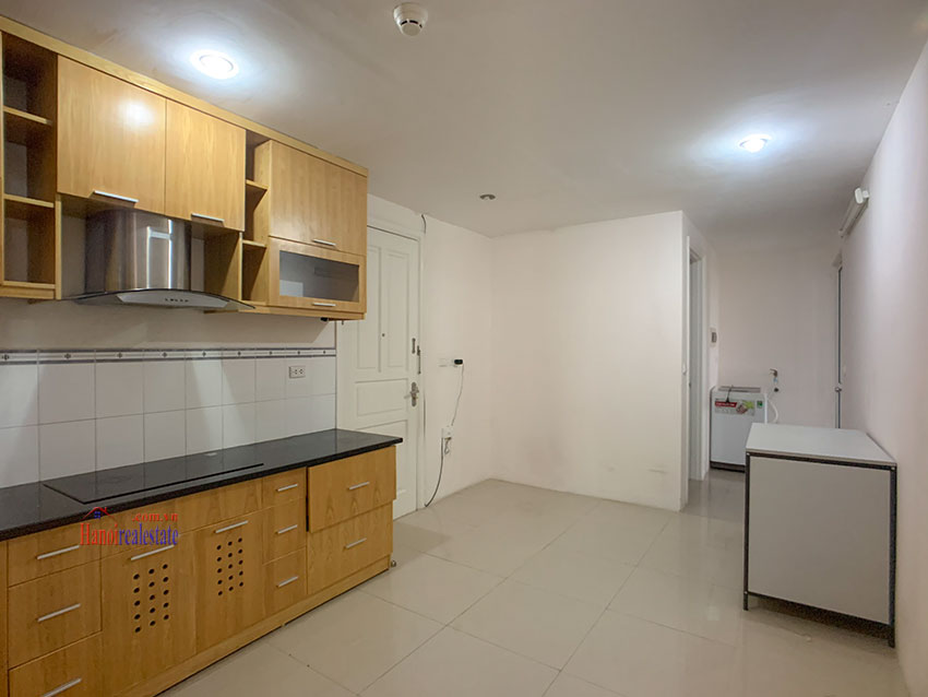 Basic Furniture 03 bedroom apartment in P1 Block, Ciputra, spacious with villas view from huge balcony 16