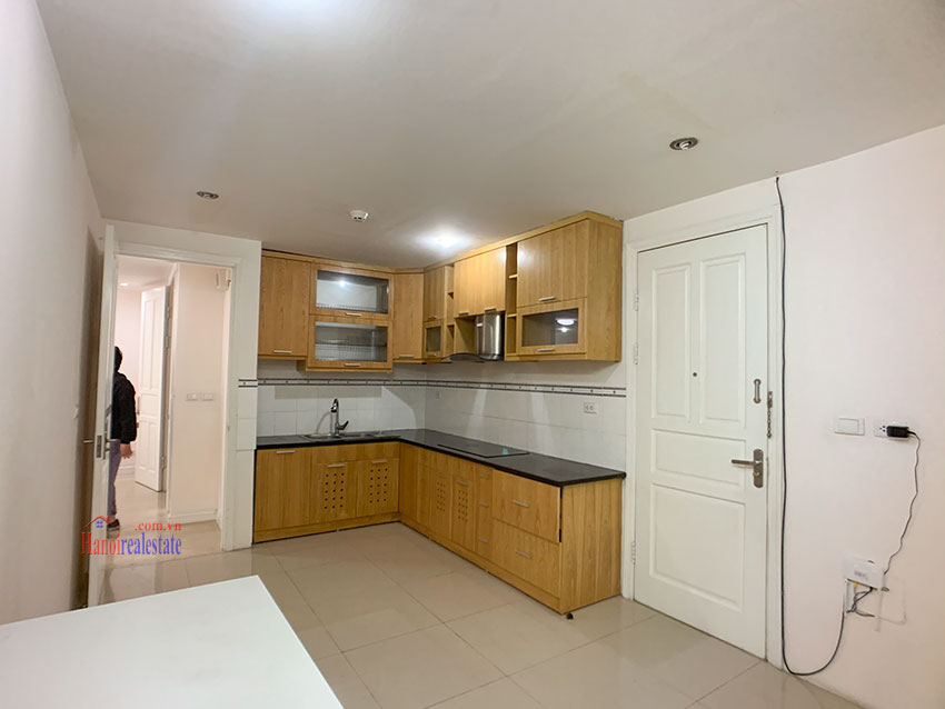 Basic Furniture 03 bedroom apartment in P1 Block, Ciputra, spacious with villas view from huge balcony 17