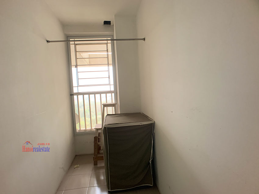 Basic Furniture 03 bedroom apartment in P1 Block, Ciputra, spacious with villas view from huge balcony 19